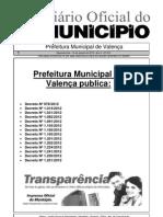 Diario Oficial Do Municipio de Valenca Bahia Edicao 610
