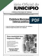 Diario Oficial Do Municipio de Valenca Bahia Edicao 614
