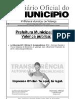 Diario Oficial Do Municipio de Valenca Bahia Edicao 616
