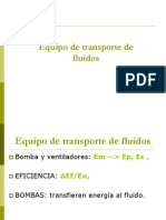 Equipo Transport e Fluid Os
