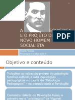 A educação soviética e o projeto de um novo homem socialista