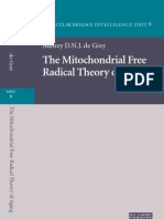 The Mitochondrial Free Radical Theory of Aging
