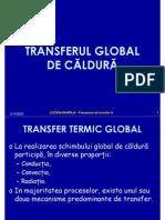 transfer global de caldura