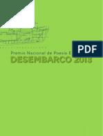 Bases- Premio Nacional de Poesía Emergente DESEMBARCO 2013