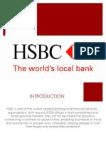 Banking presentation on HSBC