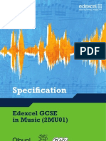 GCSE Specification