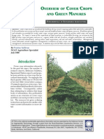 Overview of Cover Crops