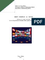 drept european al muncii