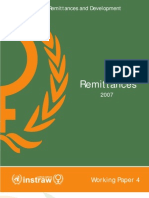 Migration and Remittances 2007 Working Paper 4