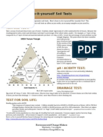 Do-It-Yourself Soil Tests