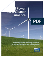 Wind Power for a Cleaner America