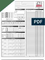 generic d20 character sheet
