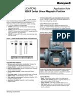 SS39ET/SS49E/SS59ET Series Linear Magnetic Position Sensor ICs