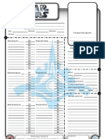 Star wars fillable character sheet