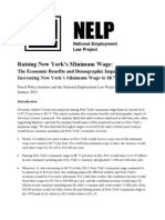 Raising New York Min Wage FPI NELP