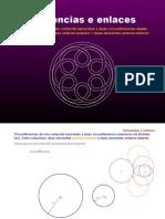 Circunferencias de raio coñecido tanxentes exterior-exterior e exterior-interior a outras dúas