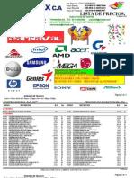 Lista de Precio Micro Max c.a 23 de Enero Del 2013