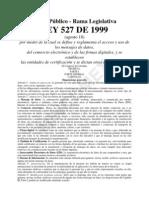 Ley 527