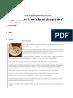 High salt diet - lowers heart disease risk