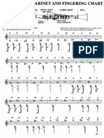 Clarinet Chart