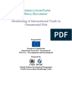 2008 - Monitoring of International Trade in Ornamental Fish - Consultation Paper