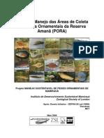2008 - Plano de manejo das áreas de coleta de peixes ornamentais da reserva Amanã (PORA)