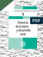 Estudios Sobre La Tenencia de Tierras_ FAO