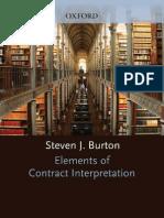 Elements of Contract Iinterpretation
