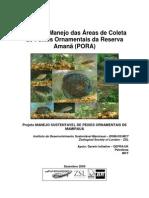 2009 - Plano de manejo das áreas de coleta de peixes ornamentais da reserva Amanã (PORA)