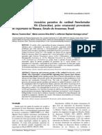 2009 - Protozoários e metazoários parasitos do cardinal Paracheirodon axelrodi, peixe ornamental proveniente de exportador de Manaus, Estado do Amazonas, Brasil