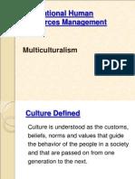 multi culture