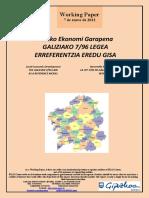 Tokiko Ekonomi Garapena. GALIZIAKO 7/96 LEGEA ERREFERENTZIA EREDU GISA (Eus) Local Economic Development. THE GALICIAN 7/96 LAW AS A REFERENCE MODEL (Basque). Desarrollo Económico Local. LA LEY 7/96 DE GALICIA COMO MODELO DE REFERENCIA (Eus)