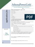 Powerlink Application 2013