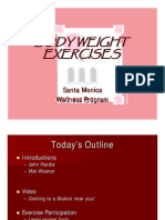 SAC body weight exercises