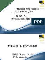 Físca en la Prevención