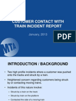 MTA report on subway fatalitiez