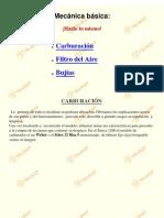Mecanica Basica Carburacion
