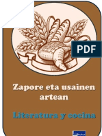 Literatura eta sukaldaritza - Novelas y cocina