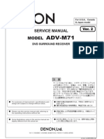 DENON ADV-M71 DVD Sorround Receiver Sm