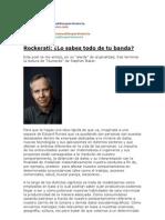 Industria musical - marketing y promoción - Rockerati