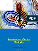 Meningitis- Introduction and management