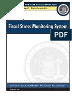 DiNapoli NYS Fiscal Stress