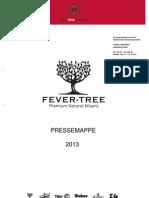 Pressemappe Fever Tree 2013