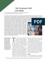 แนวทางการรักษา common cold