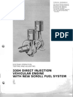 Motor 3304 Inyeccion Directa - Scroll Fuel System