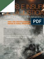 Usos e insuficiencias de la justicia