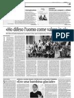 COSA DICE LA STAMPA. Lumi Videla su La Sicilia 25.1.13