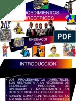 Procedimientos Directrices Sistemas Distribucion