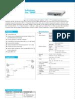 Fiber Multiplexer 4xE1