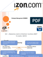 Strategic Management Case Study on Amazon